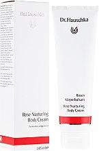 Parfüm, Parfüméria, kozmetikum Tápláló testkrém - Dr. Hauschka Rose Nurturing Body Cream