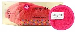 Parfüm, Parfüméria, kozmetikum Mini törölköző smink eltávolítására, rózsaszín - Rolling Hills Mini Makeup Remover Pink