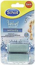 Parfüm, Parfüméria, kozmetikum Tartalék fejek elektromos sarokreszelőhöz - Scholl Velvet Smooth Wet&Dry