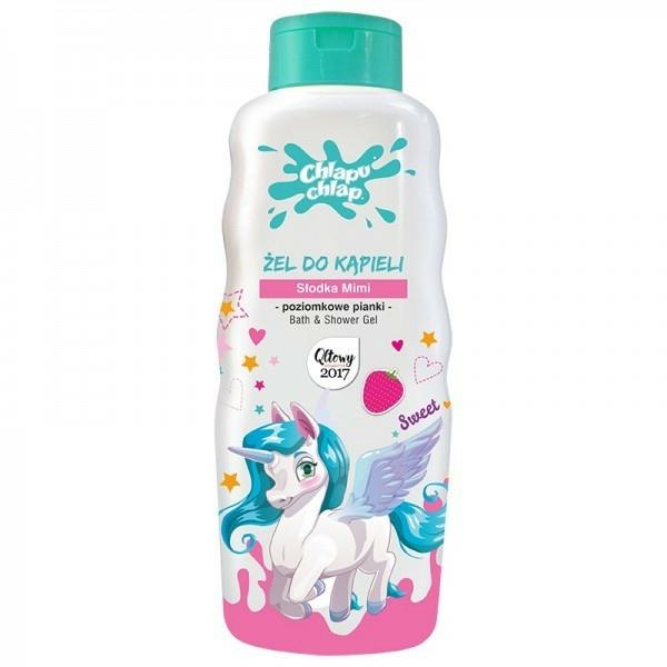 Gyerek tusfürdő földieper illattal - Chlapu Chlap Bath & Shower Gel