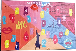 "Parfüm, Parfüméria, kozmetikum Szett ""Adventi kalendárium 2020"" - Maybelline Advent Calendar 2020"