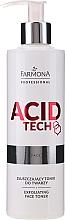 Parfüm, Parfüméria, kozmetikum Hámlasztó tonik - Farmona Professional Acid Tech Exfoliating Face Toner
