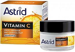 Parfüm, Parfüméria, kozmetikum Nappali rántalanító krém C vitaminnal - Astrid Vitamin C Daily Anti-Wrinkle Cream