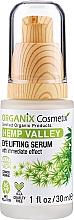 Parfüm, Parfüméria, kozmetikum Lifting szérum szemre - Organix Cosmetix Hemp Valley Eye Lifting Serum