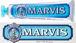 """Parfüm, Parfüméria, kozmetikum Fogkrém xilitolal """"Tengeri menta"""" - Marvis Aquatic Mint + Xylitol"""