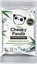 Parfüm, Parfüméria, kozmetikum Nedves törlőkendő - The Cheeky Panda Biodegradable Bamboo Handy Wipes