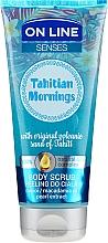 Parfüm, Parfüméria, kozmetikum Testradír - On Line Senses Body Scrub Tahitian Morning