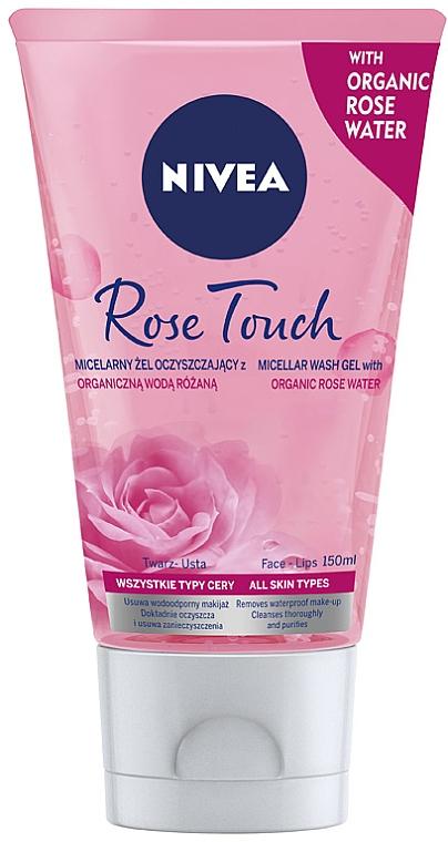 Micellás gél + rózsavíz - Nivea MicellAir Skin Breathe