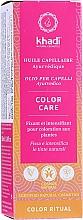 Parfüm, Parfüméria, kozmetikum Ajurvédikus hajolaj - Khadi Ayurvedic Color Care Hair Oil
