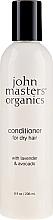 """Parfüm, Parfüméria, kozmetikum Kondicionáló száraz hajra """"Levendula és avokádó"""" - John Masters Organics Conditioner For Dry Hair Lavender & Avocado"""