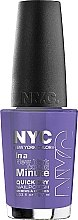 Parfüm, Parfüméria, kozmetikum Körömlakk - NYC In A New York Color Minute Quick Dry Nail Polish