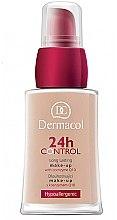 Parfüm, Parfüméria, kozmetikum Alapozó krém koenzimmel Q10 - Dermacol 24h Control Make-Up