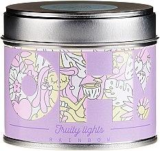 """Parfüm, Parfüméria, kozmetikum Illatosított gyertya """"Szivárvány"""" - Oh!Tomi Fruity Lights Rainbow Candle"""