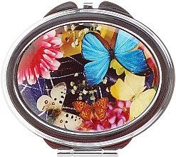 """Parfüm, Parfüméria, kozmetikum Kozmetikai tükör """"Lepkék"""", 85451, világos kék - Top Choice"""