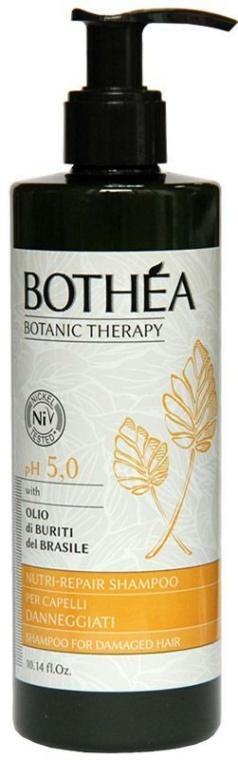 Sampon sérült hajra - Bothea Botanic Therapy Nutri-Repair Shampoo pH 5.0 — fotó N1