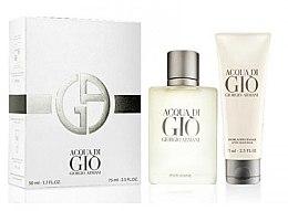 Parfüm, Parfüméria, kozmetikum Giorgio Armani Acqua di Gio Pour Homme - Szett (edt/50ml + a/sh/balm/75ml)