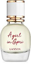 Parfüm, Parfüméria, kozmetikum Lanvin A Girl in Capri - Eau De Toilatte