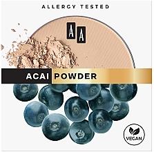 Parfüm, Parfüméria, kozmetikum Mattító arcpúder - AA Acai Powder