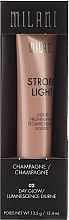 Parfüm, Parfüméria, kozmetikum Krém highlighter - Milani Strobe Light Liquid Highlighter