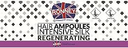 Parfüm, Parfüméria, kozmetikum Hajsimító ampulla - Ronney Professional Hair Ampoules Intensive Silk Regenerating