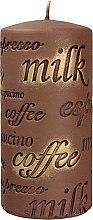 Parfüm, Parfüméria, kozmetikum Illatgyertya, 7x14 cm., barna - Artman Coffee