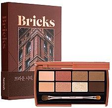 Parfüm, Parfüméria, kozmetikum Szemhéjfesték paletta - Heimish Dailism Eye Palette Brick Brown