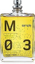 Parfüm, Parfüméria, kozmetikum Escentric Molecules Molecule 03 - Eau De Toilette (teszter)
