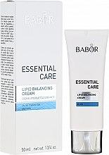 Parfüm, Parfüméria, kozmetikum Krém száraz bőrre - Babor Essential Care Lipid Balancing Cream