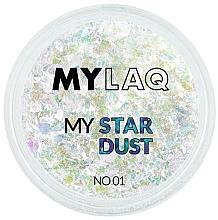 Parfüm, Parfüméria, kozmetikum Köröm por - MylaQ My Star Dust