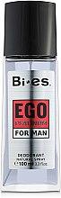 Parfüm, Parfüméria, kozmetikum Bi-Es Ego Platinum - Spray dezodor