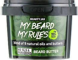 Parfüm, Parfüméria, kozmetikum Szakáll vaj - Beauty Jar My Beard My Rules Beard Butter