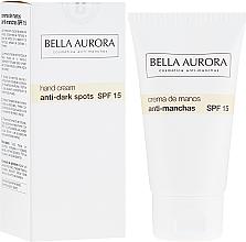 Parfüm, Parfüméria, kozmetikum Pigmentfolt elleni kézkrém - Bella Aurora M7 Anti Dark Spots Hand Cream SPF15