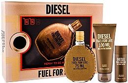 Parfüm, Parfüméria, kozmetikum Diesel Fuel for Life Homme - Szett (edt/75ml + sh/gel/100ml + sh/gel/50ml)