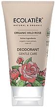 """Parfüm, Parfüméria, kozmetikum Dezodor """"Gyengéd ápolás"""" - Ecolatier Organic Wild Rose Deodorant"""