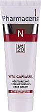 Parfüm, Parfüméria, kozmetikum Erősítő és hidratáló hatású arckrém - Pharmaceris N Vita Capilaril Moisturizing-Strengthening Face Cream SPF20