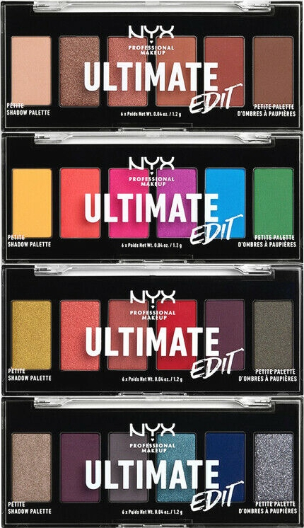Szemhéjfesték paletta - NYX Professional Makeup Ultimate Edit Petite Shadow Palette