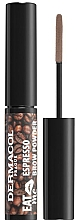 Parfüm, Parfüméria, kozmetikum Szemöldök púder - Dermacol Eat Me Espresso Eyebrow Powder