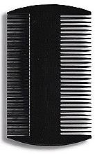Parfüm, Parfüméria, kozmetikum Hajfésű 8,8 cm, fekete - Donegal Hair Comb