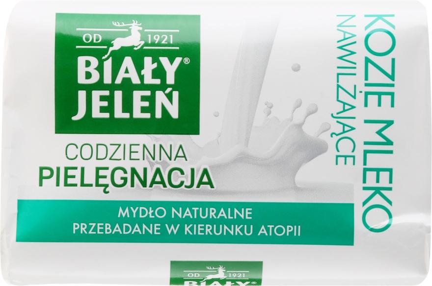 Hipoallergén szappan kecsketej kivonatal - Bialy Jelen Hypoallergenic Soap With Goat Milk