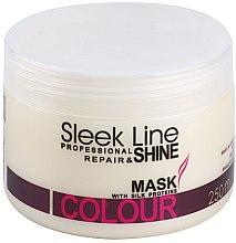 Parfüm, Parfüméria, kozmetikum Hajmaszk - Stapiz Sleek Line Colour Mask