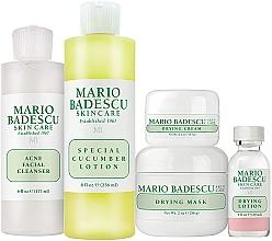 Parfüm, Parfüméria, kozmetikum Szett - Mario Badescu Acne Control Kit (lot/29ml+cr/14g+mask/56g+cleanser/177ml+lot/236ml)