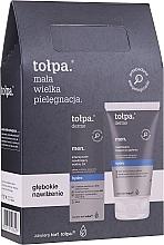 Parfüm, Parfüméria, kozmetikum Szett - Tolpa Dermo Men Hydro (a/sh/balm 125 ml + f/gel 75 ml)