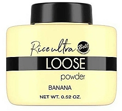 Parfüm, Parfüméria, kozmetikum Banán porpúder arcra - Bell Loose Rice Fixing Banana Powder