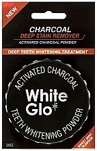 Parfüm, Parfüméria, kozmetikum Fogfehérítő por - White Glo Activated Charcoal Teeth Polishing Powder