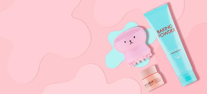 Etude House termékek 9315 Ft feletti vásárlása során kapj ajándékba szilikon arctisztító kefét