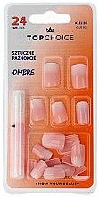 """Parfüm, Parfüméria, kozmetikum Műköröm tip """"Ombre"""", 78002 - Top Choice"""