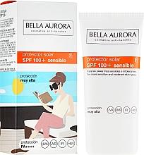 Parfüm, Parfüméria, kozmetikum Napvédő krém - Bella Aurora Solar Protector Sensible SPF100+