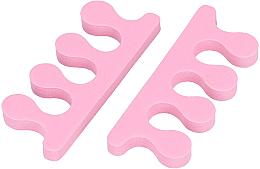 Parfüm, Parfüméria, kozmetikum Lábujjelválasztó szivacs, rózsaszín - Tools For Beauty Toe Separator Pink