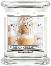 Parfüm, Parfüméria, kozmetikum Illatosított gyertya üvegben - Kringle Candle Pumpkin Cheesecake