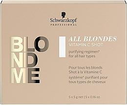 Parfüm, Parfüméria, kozmetikum C-vitamin koncentrátum minden hajtípusra - Schwarzkopf Professional Blondme All Blondes Vitamin C Shot